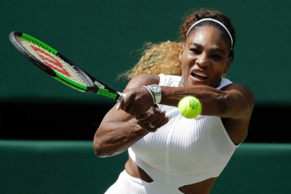 Serena Williams 'lets it go' and reaches 11th Wimbledon final