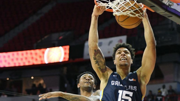 Brandon Clarke's slam in OT sends Grizzlies to Summer League title game vs. Timberwolves