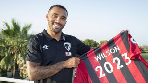 Callum Wilson: Bournemouth and England striker signs new four-year contract