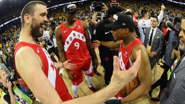 Report: Raptors don't intend to trade Kyle Lowry, Marc Gasol or Serge Ibaka