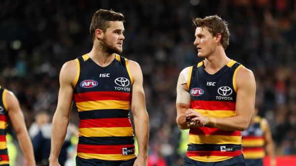 Trade one of the Crouch brothers? No way, says Crows assistant
