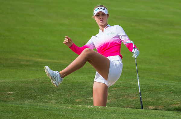 Nelly Korda commits to Lacoste Ladies Open de France