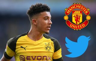 Manchester United fans convinced they've spotted HUGE Jadon Sancho transfer clue on Twitter