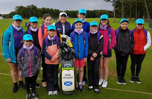 'Get into Golf' Girls Given Exclusive Tour