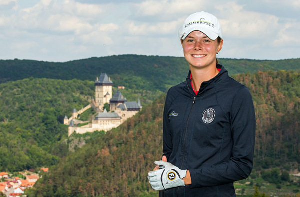 Esther leads the charge at Tipsport Czech Ladies Open