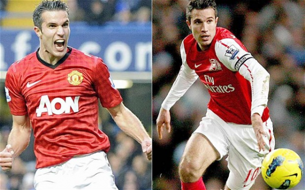 Robin van Persie reveals transfers he snubbed before quitting Arsenal for Manchester United