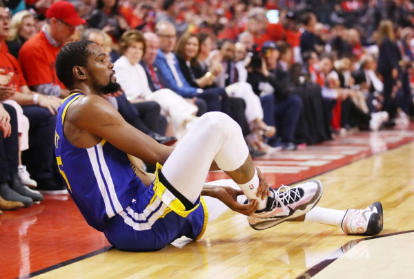 Kevin Durant Claps Back at Raptors Fans Who Cheered Achilles Injury