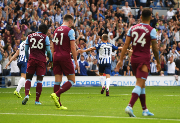 Brighton vs West Ham highlights: Goals and action from Premier League clash at the Amex