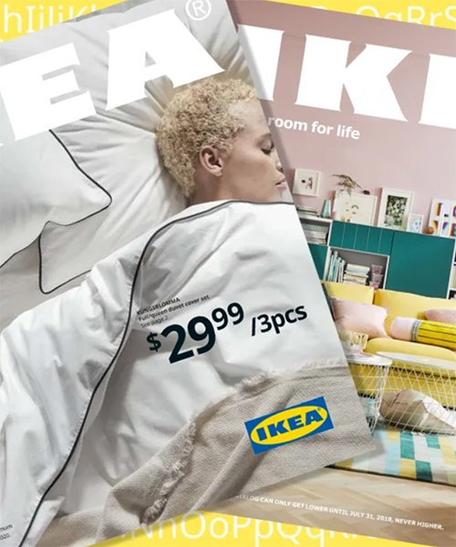 IKEA trades typeface for one that is recognizable in 800 languages