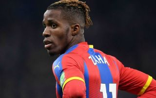 Wilfried Zaha told he needs Arsenal transfer by Crystal Palace legend
