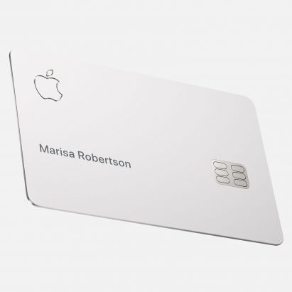 """Apple credit card must be stored """"in a bag made from soft materials"""""""