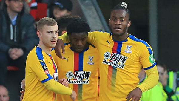 Jeffrey Schlupp: Crystal Palace ace moves focus to Manchester United showdown