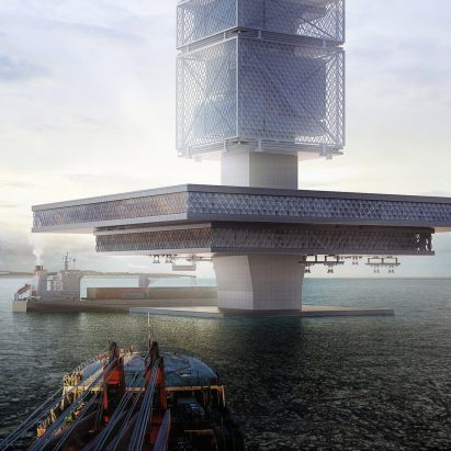"""Filtration Skyscrapers in the oceans could """"solve environmental and energy problems"""" around the world"""