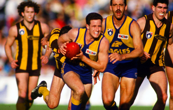 Classic clashes: 1992 Elimination Final v Hawks