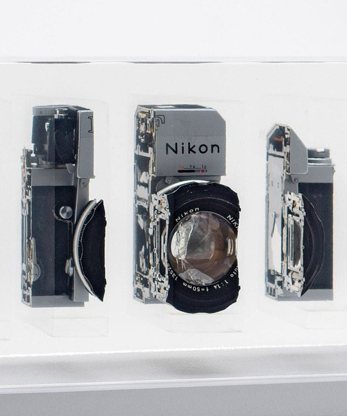 fabian oefner cuts-up and recomposes cameras, exposing their inner beauty