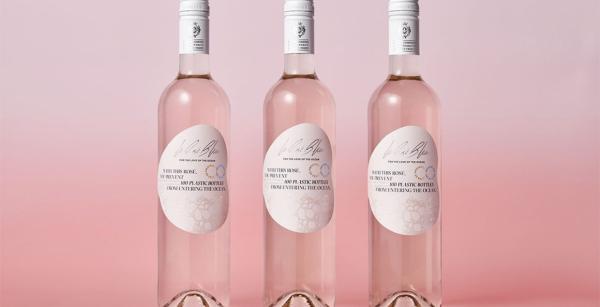 Le Rose Bleu Wine Packaging