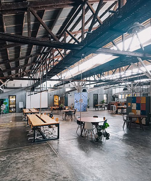 BLOOM transforms former garment factory into new community hub in cambodia