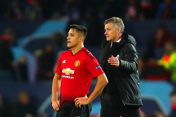 Ole Gunnar Solskjaer threatens to banish Alexis Sanchez to Manchester United's reserves