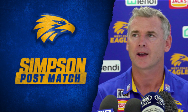 """""""We're still alive"""": Simmo looks for positives after loss to Hawks"""