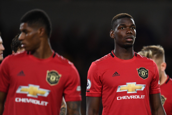 Furious Ole Gunnar Solskjaer stripped Paul Pogba of penalty duties after Wolves miss