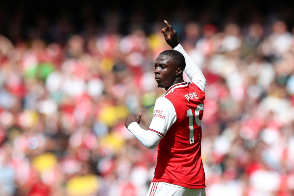 Watch Arsenal new boy Nicolas Pepe dazzle Burnley with outrageous skill on home debut