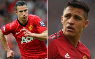 Robin van Persie offers advice to struggling Manchester United star