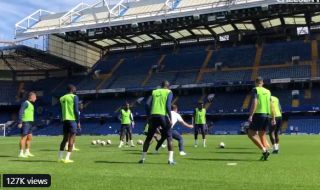 Video: Some Chelsea fans want Frank Lampard as player-manager after watching training clip