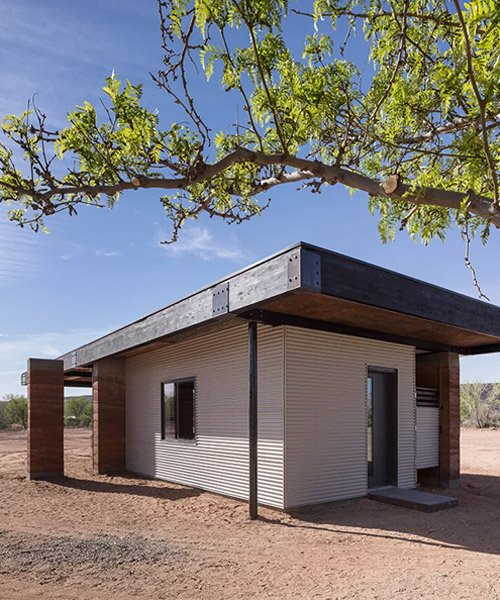 designbuildBLUFF uses rammed earth to build a community kitchen in utah