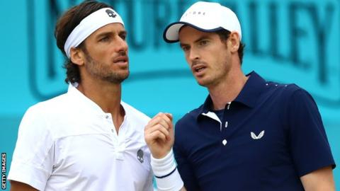 Andy Murray and Feliciano Lopez through to last 16 of doubles in Cincinnati