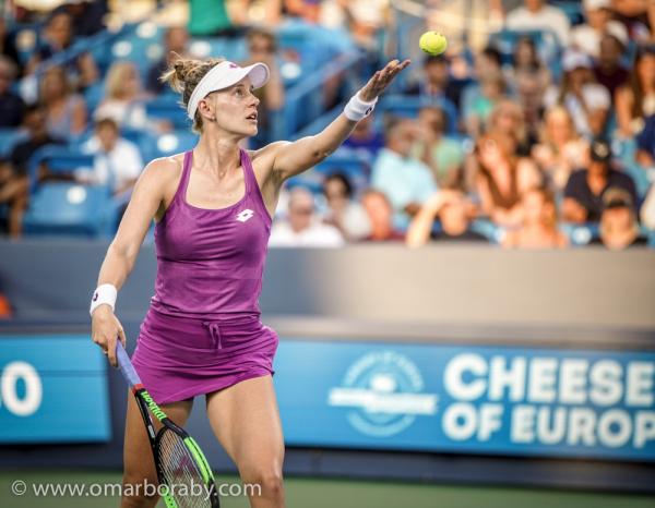 Monday's Photo Gallery, Cincinnati 2019: Sharapova-Riske and Wozniacki-Yastremska