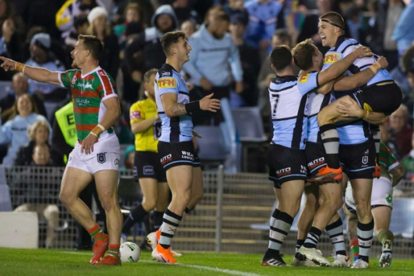 Sharks down the Rabbitohs to take top eight spot