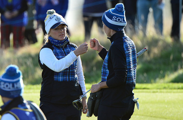 'TARTAN FRIDAY' at The Solheim Cup