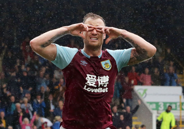 Ashley Barnes recovers from injury for Burnley's Premier League trip to Brighton