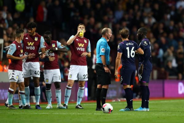 Aston Villa 0-0 West Ham: Hammers held as Mike Dean shows Arthur Masuaku red card in Villa Park draw