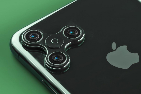 Philip Lück's imaginative take on everyday objects includes an iPhone 11 with a fidget spinner!