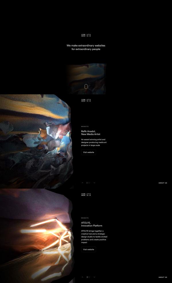 Website Inspiration: Common Studio