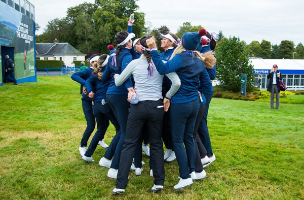 USA leads PING Junior Solheim Cup