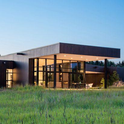 CTA tucks Confluence House into a lush Montana river valley