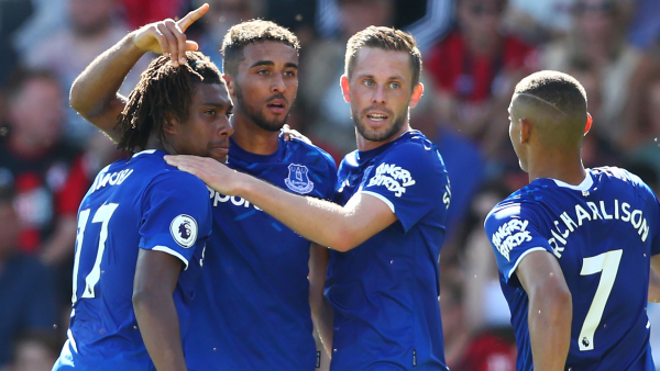Iwobi's contribution not enough as Everton bow to Bournemouth