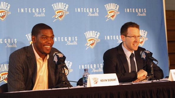 Kevin Durant says he wanted to remain part of Thunder community, but now 'I don't trust nobody there'