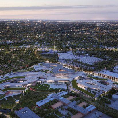 Snøhetta unveils masterplan for Ford's Research & Engineering Center in Michigan