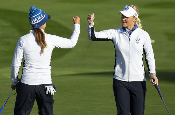 Europe Edges into Early Lead