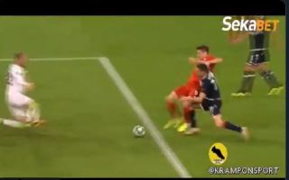 Video: Red star live up to Stephen Warnock calling them part-timers with shocking defending for Lewandowski goal