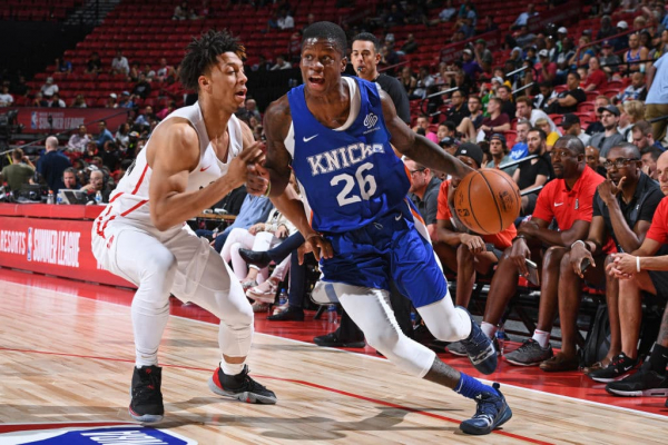 Knicks Sign Amir Hinton To Exhibit 10 Contract