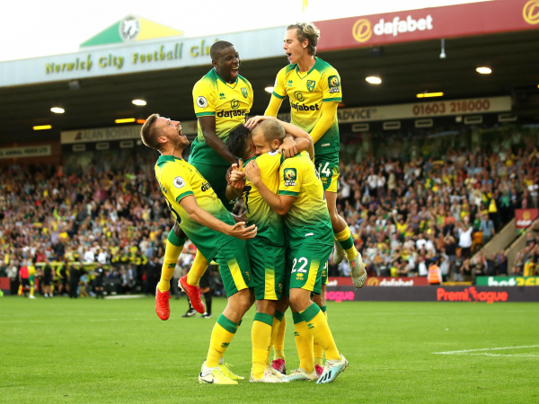Norwich vs Manchester City result: Canaries flying high after shock win over Pep Guardiolas champions