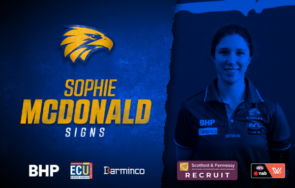 AFLW: McDonald signs with Eagles