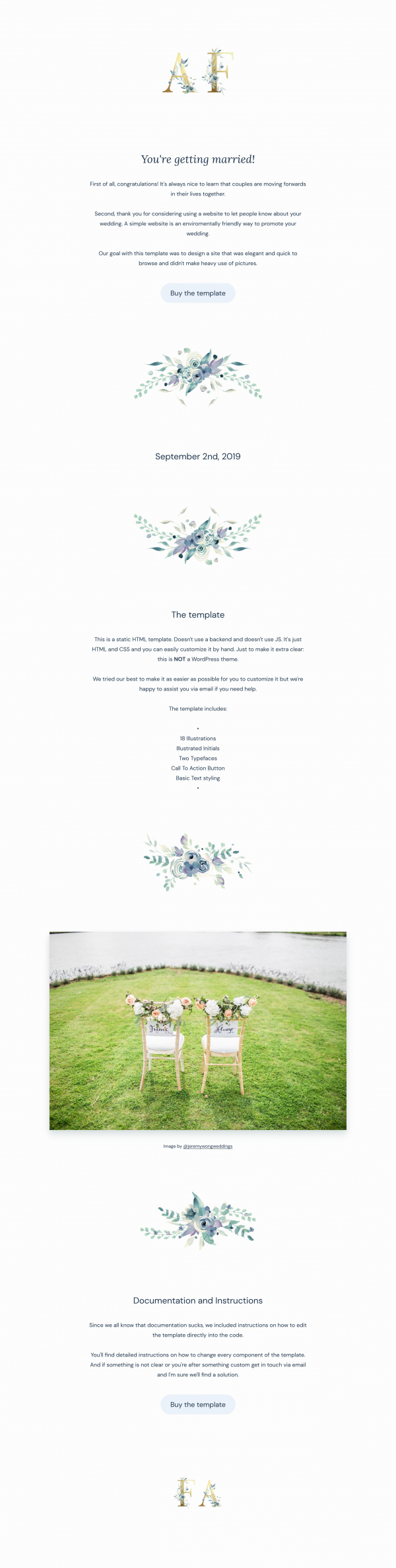Website Inspiration: Congratulations