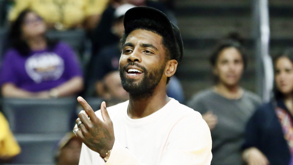 Nets will reportedly give away 10,000 Kyrie Irving jerseys vs. Knicks