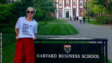 Bethanie Mattek-Sands & Caroline Wozniacki enrol at Harvard Business School