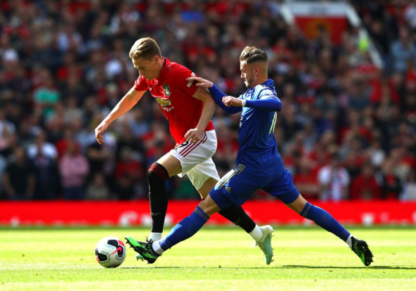 Ole Gunnar Solskjaer singles out Scott McTominay for praise after Manchester United's win against Leicester